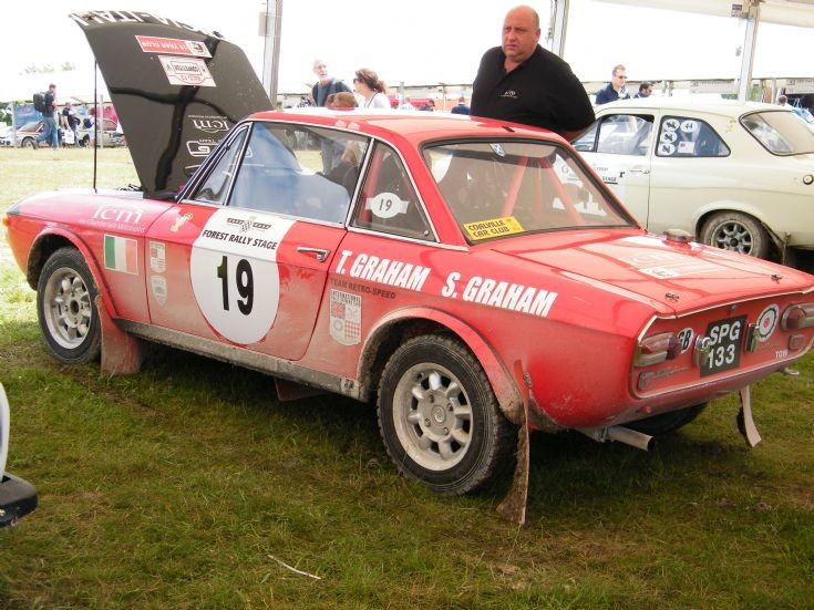 Lancia Fulvia rally car