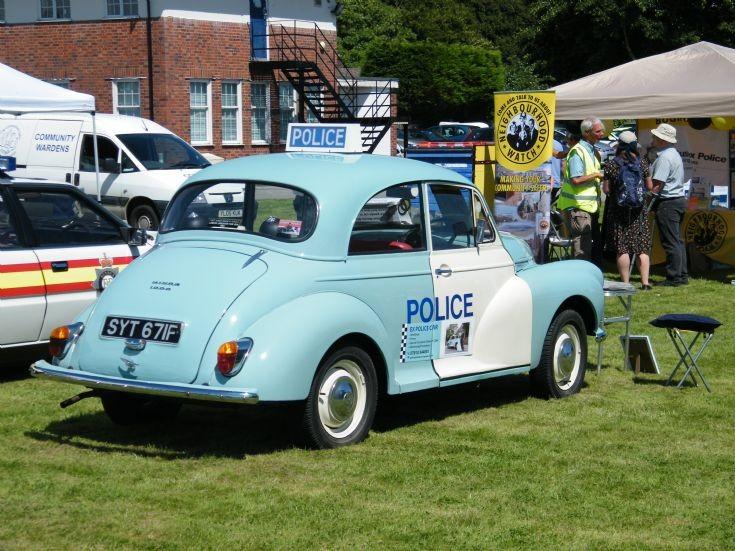 Morris Minor 1000 Police Panda Car