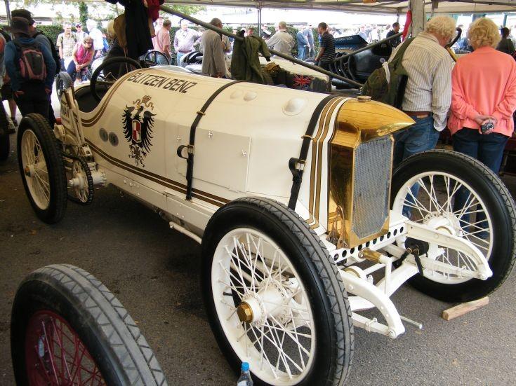 The Famous Blitzen Benz (Mercedes)