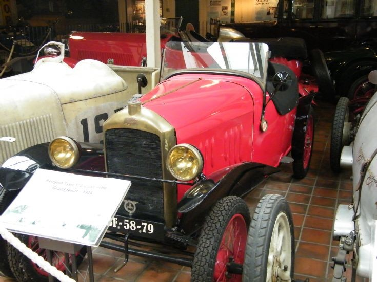 1924 Peugeot Type 172 Quadrilette Grand Sport