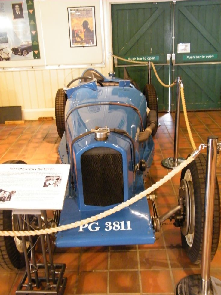 1930's Cuthbert Riley 9hp Special