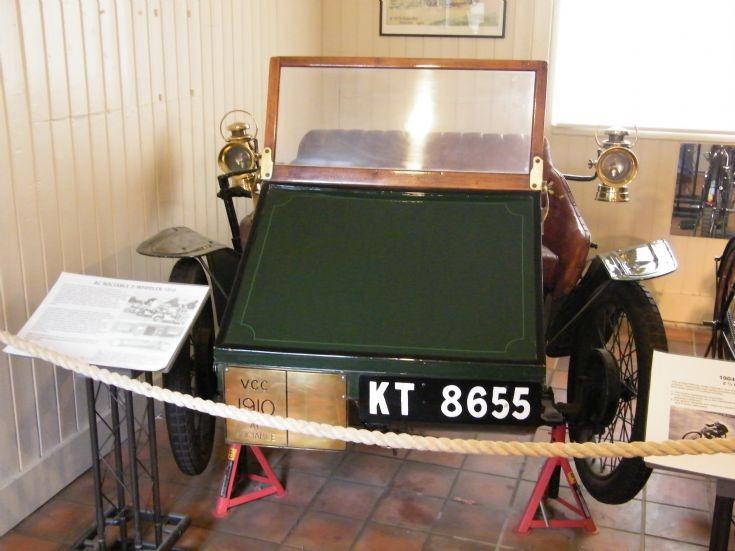 1910 AC Sociable 3-Wheeler