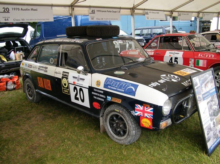 1970 Austin Maxi rally car