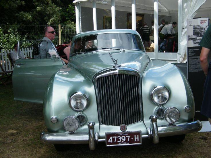 Australian Registered Bentley