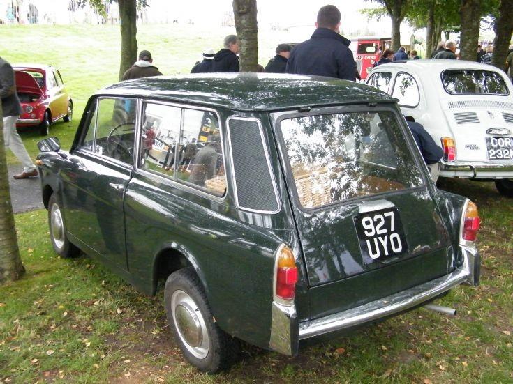Fiat 500 or derivative (station Wagon)