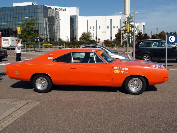 Orange Dodge Charger
