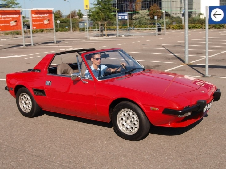 Classic and Vintage Cars  two seater sports car Fiat X1/9