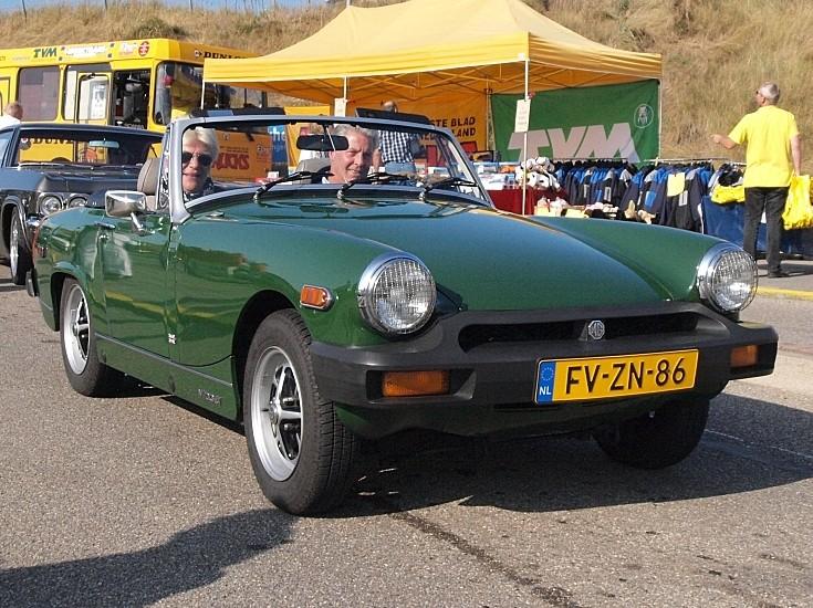 1978 MG sports car