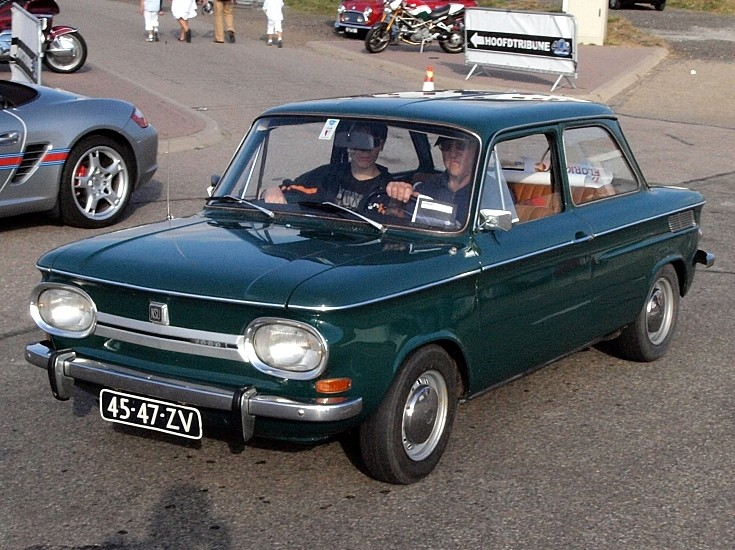 Top condition NSU seen at oldtimer festival