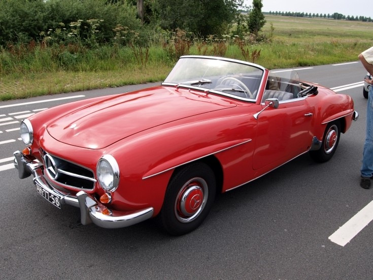 Classic and vintage cars mercedes benz 190 sl cabriolet for Mercedes benz vintage cars