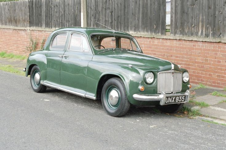 1957 P4 Rover 60 Billingham 1999.