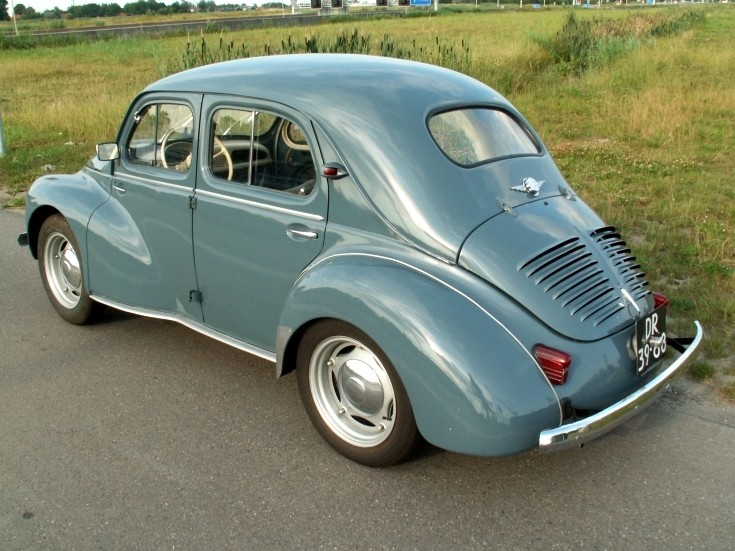 Renault 4 CV 'people's car'