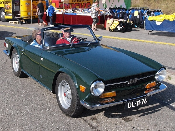 1970 registered Triumph TR6