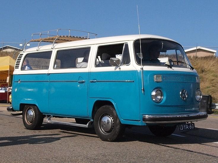 Classic and vintage cars vw van - Pieces combi vw t2 ...