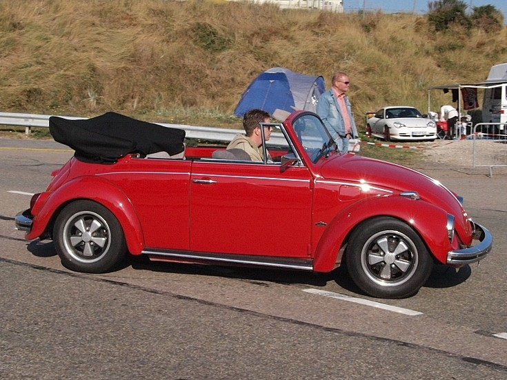 Red VW Kever