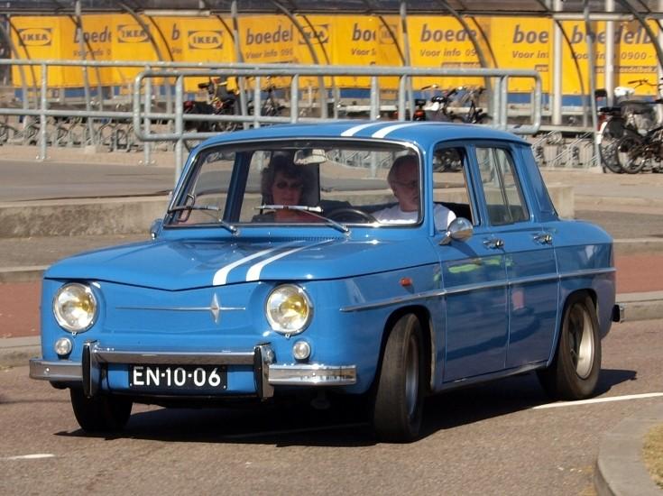 1965 Renault 8 Major. Renault 8 - R1134 Gordini 1965