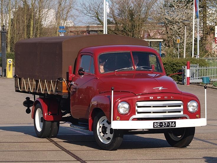 classic and vintage cars opel bliz pick up truck 1956. Black Bedroom Furniture Sets. Home Design Ideas