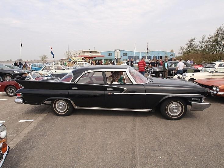 Black Chrysler Saratoga