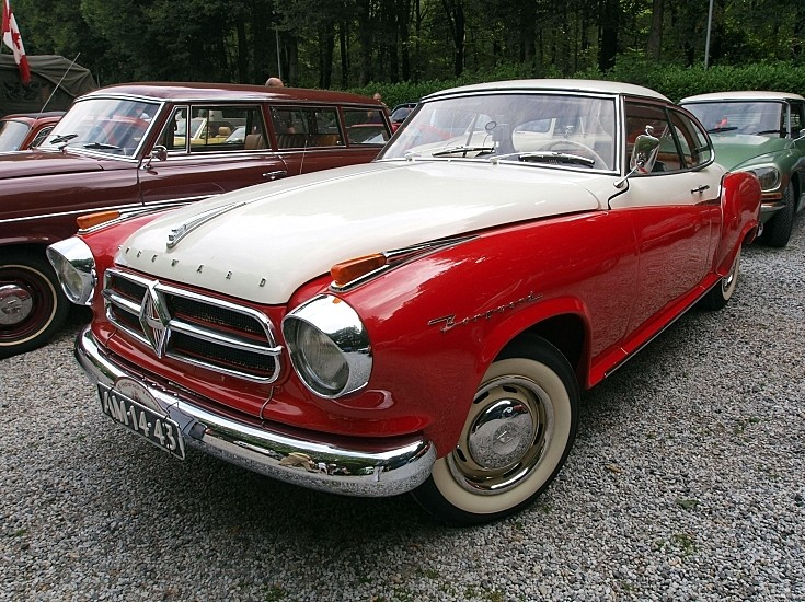 Good condition Borgward Coupe