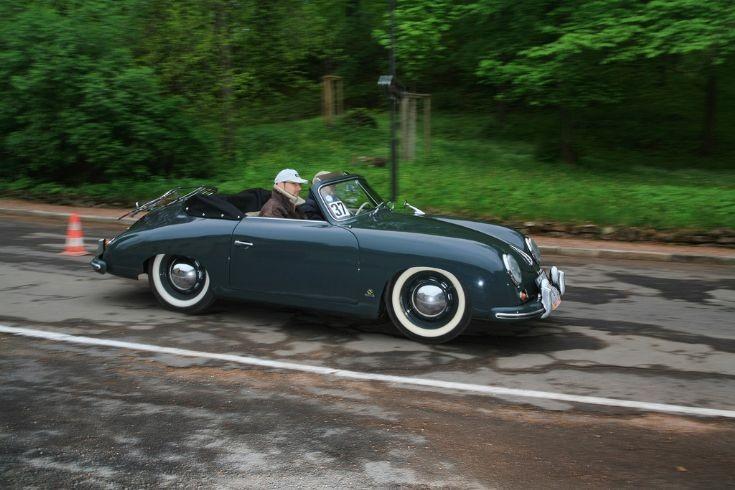 Porsche 356 Knickscheibe