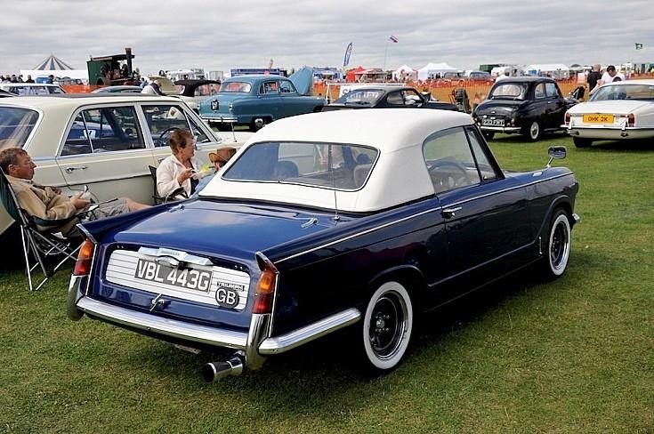 Vintage Triumph Car 53