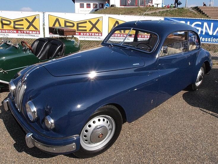Classic Bristol sports car