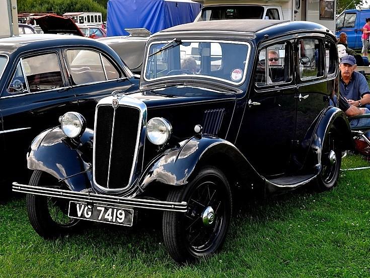 Morris Eight at Big Wheels Classic Car Show