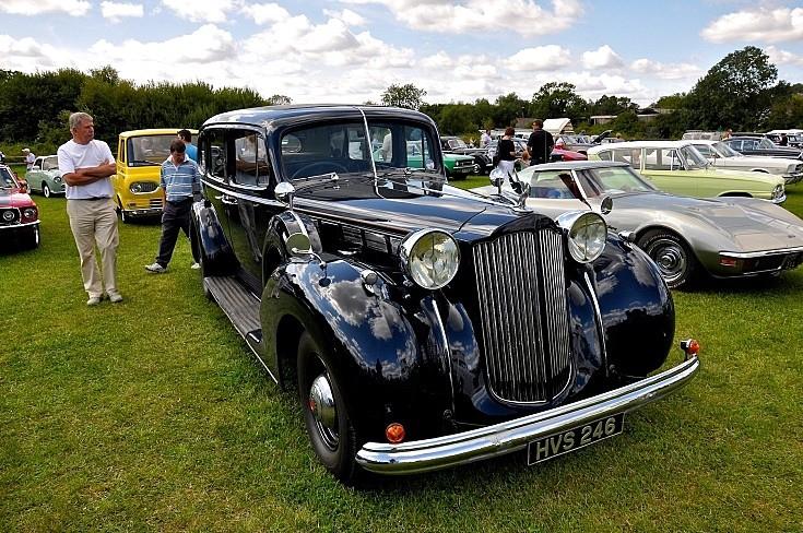 Packard at Big Wheels Classic Car Show