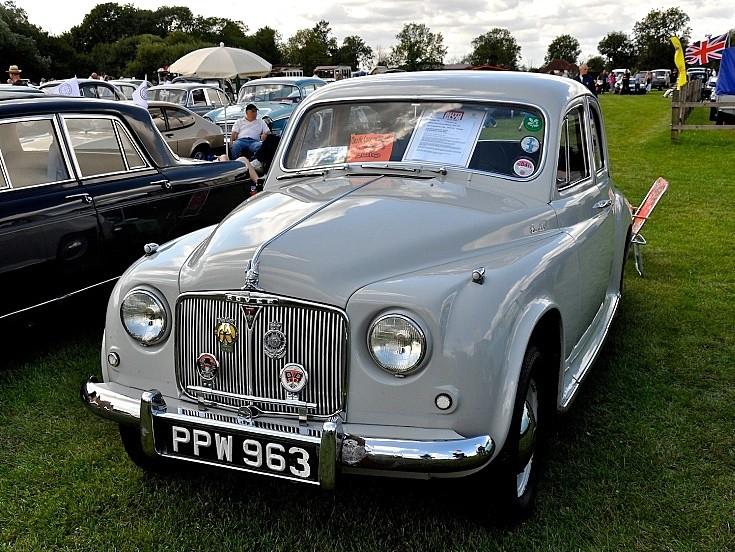 Rover P4 90 - 1954