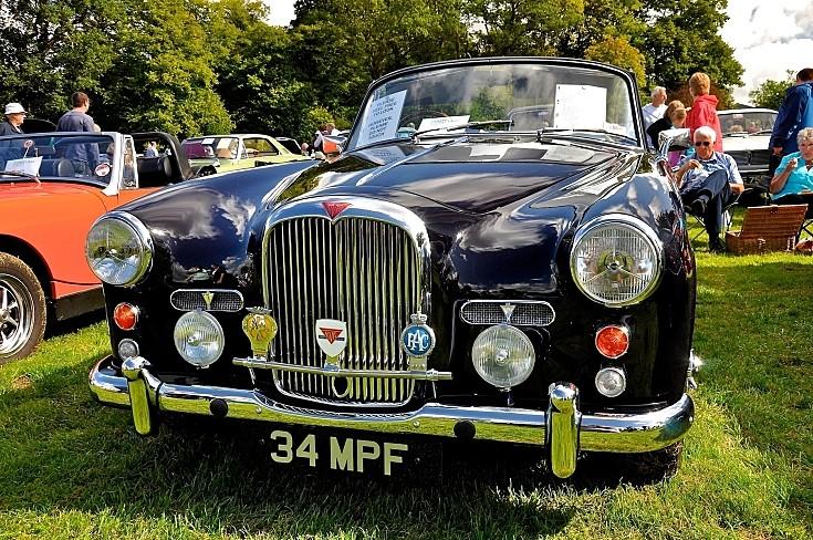 Alvis, TD21, Drophead, Coupe, 1959
