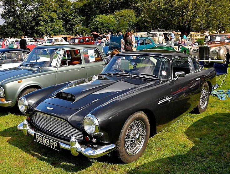 Two door Aston Martin