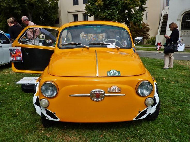 Fiat 500D in Sacramento
