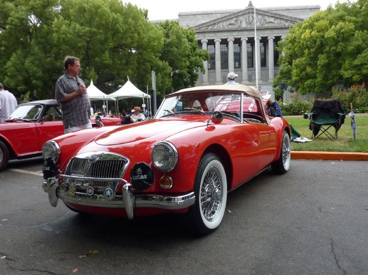 Classic and Vintage Cars - MG in the USA