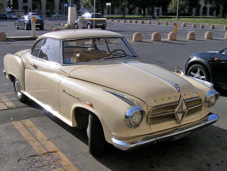 Borgward Isabella Coupè in Italy