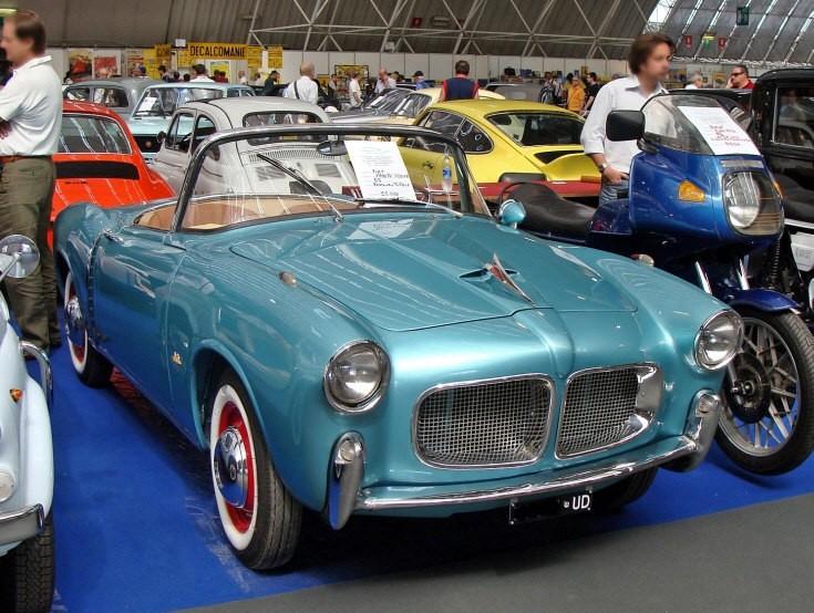 1955 classic Fiat Spider