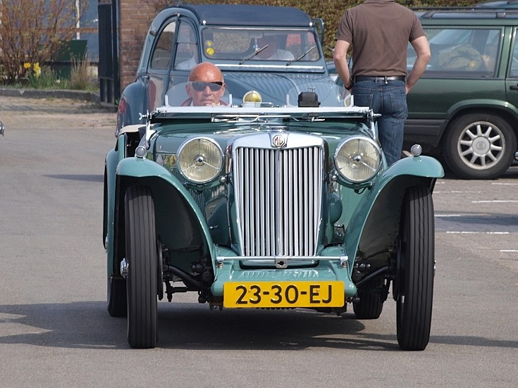 MG TC Midget (1946)