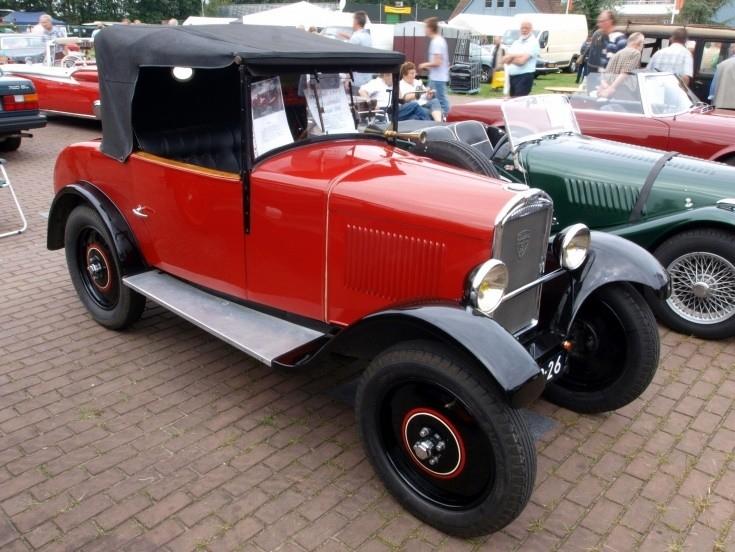 Restored 1930 Peugeot