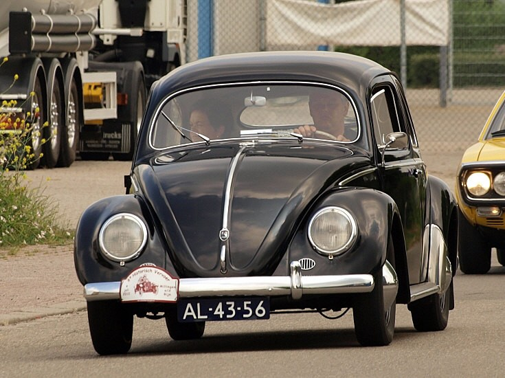Classic and Vintage Cars - Black beetle
