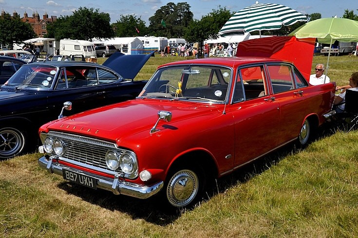 Red Ford Zodiac