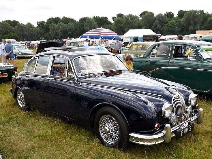 Jaguar at Long Melford