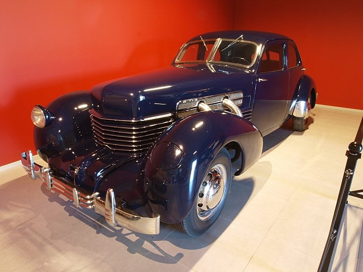 Photo of a Cord vintage car
