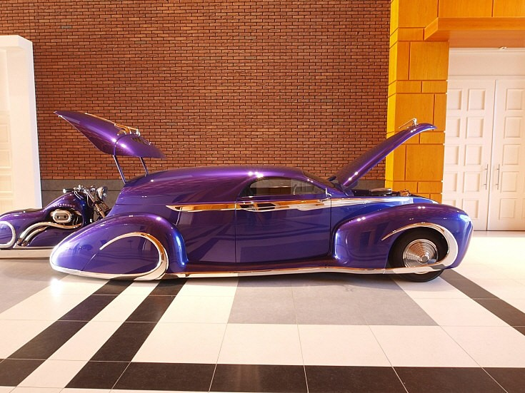 Ford Candy Purple Leadsled Harley Combo