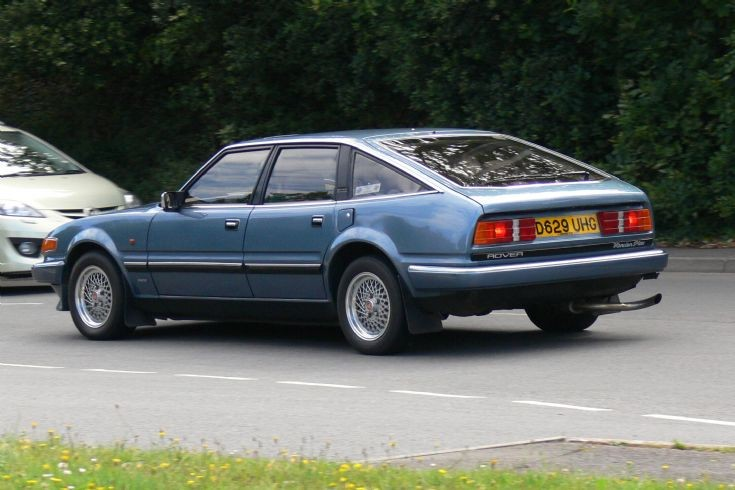 1986 Rover Vanden Plas