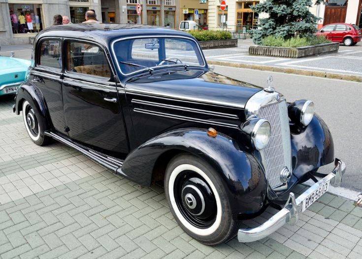 Classic and vintage cars mercedes benz 170 ds w136 1952 for 1952 mercedes benz