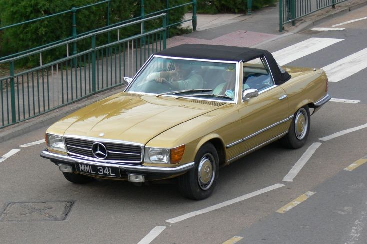 1972/3 Mercedes
