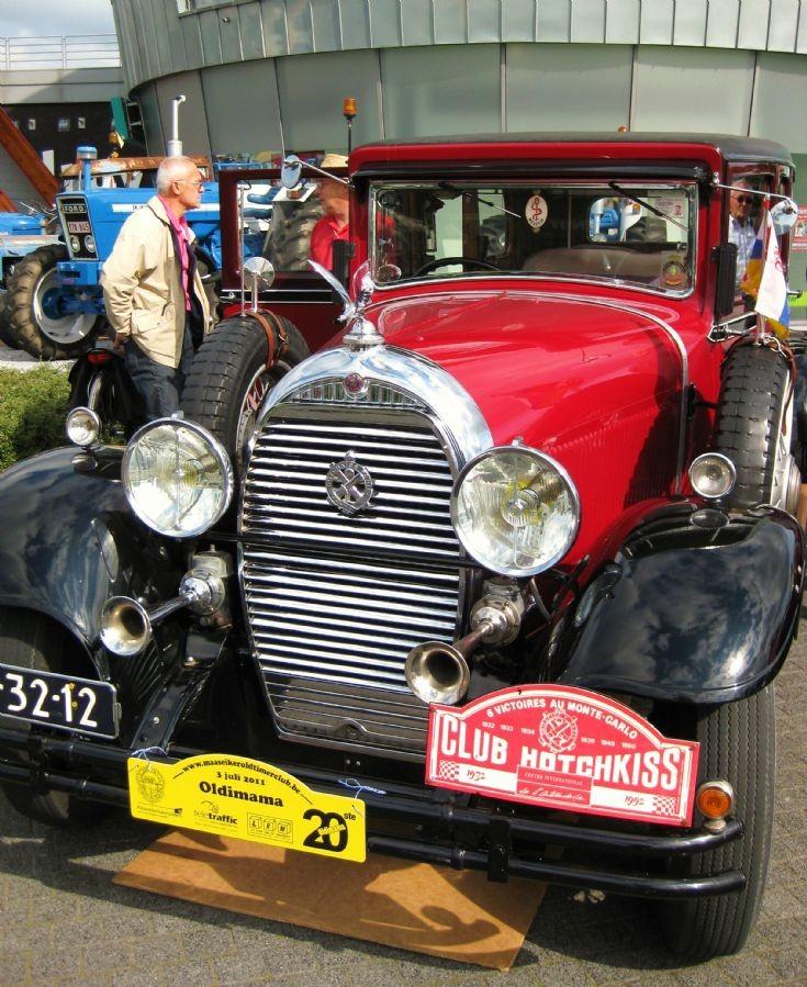 1932 Hotchkiss in Maaseik ( B ) 3