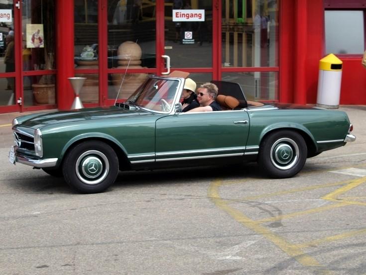 Vintage Mercedes Benz Convertible 47