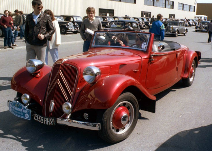 Citroën 11B cabriolet 1938