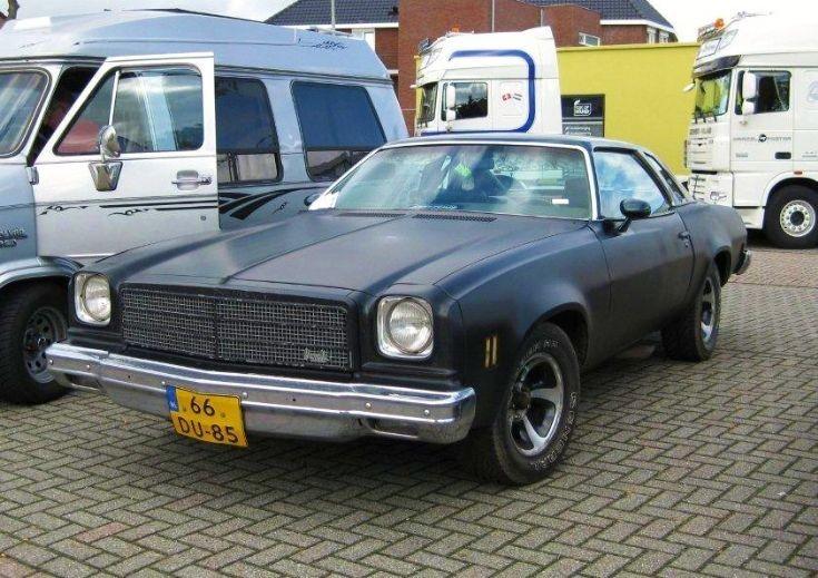 1974 Chevrolet Chevelle Malibu.