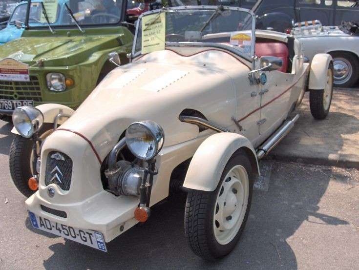 Lomax Kit car(based on Citroen2CV 1973) (1)